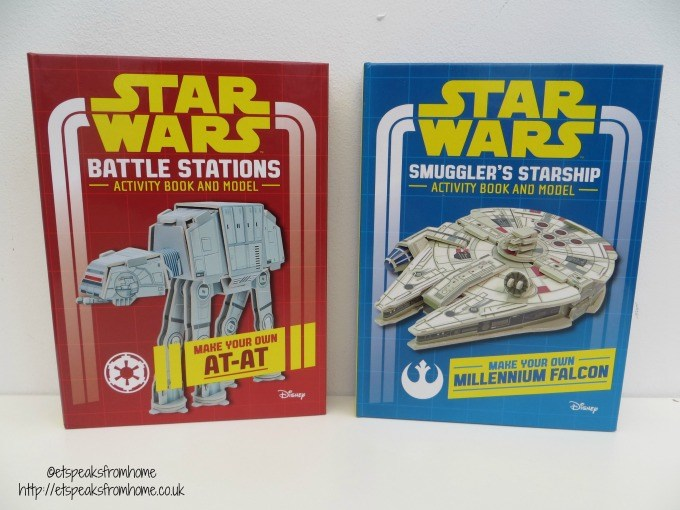 star wars mini model books