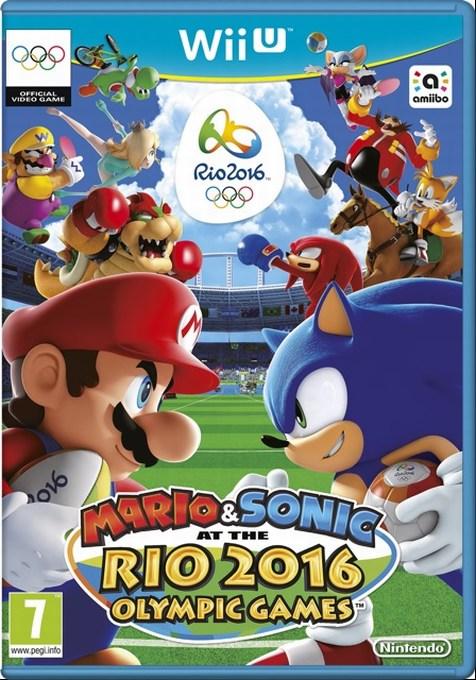 WiiU Mario Sonic Rio 2016