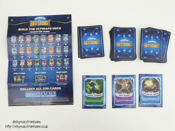 skylanders battlecast cards