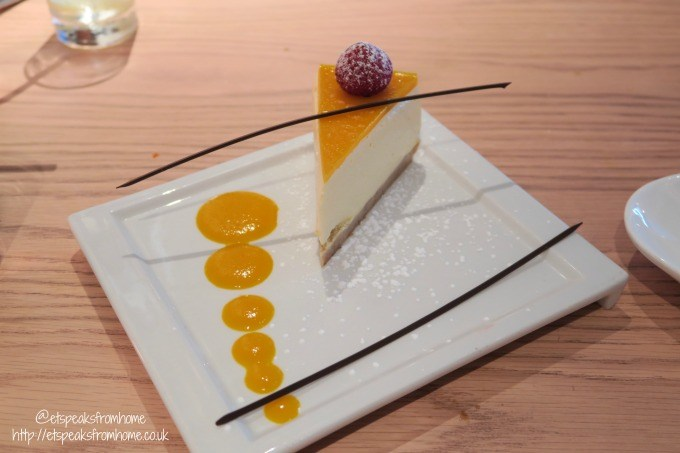 chi kitchen mango cheesecake