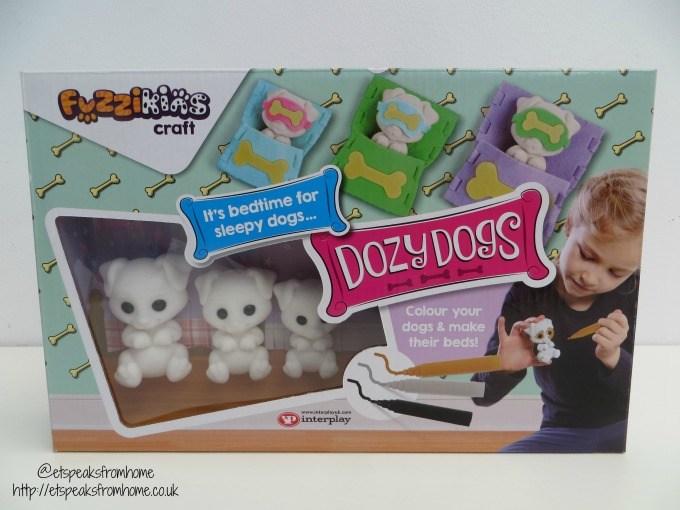 fuzzikins craft dozy dogs