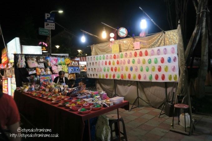arcade game in shilin night market