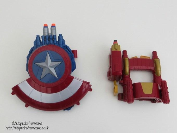 captain america nerf blaster