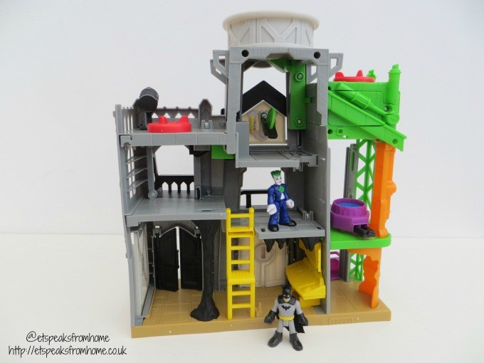 imaginext superflight city back