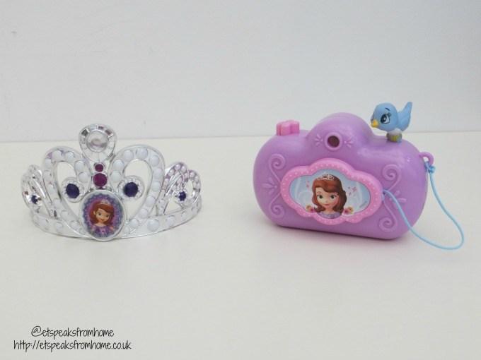 sofia the first tiara camera