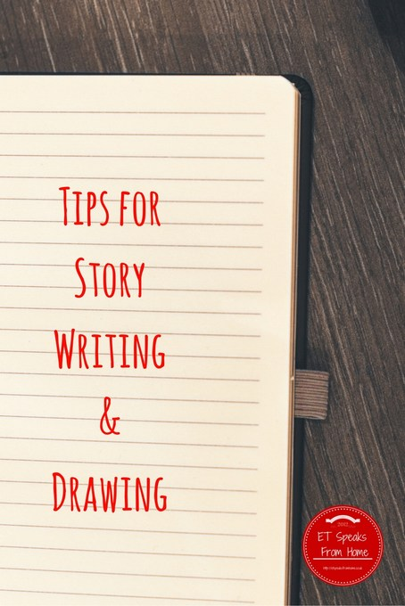 tips for story writing drawing