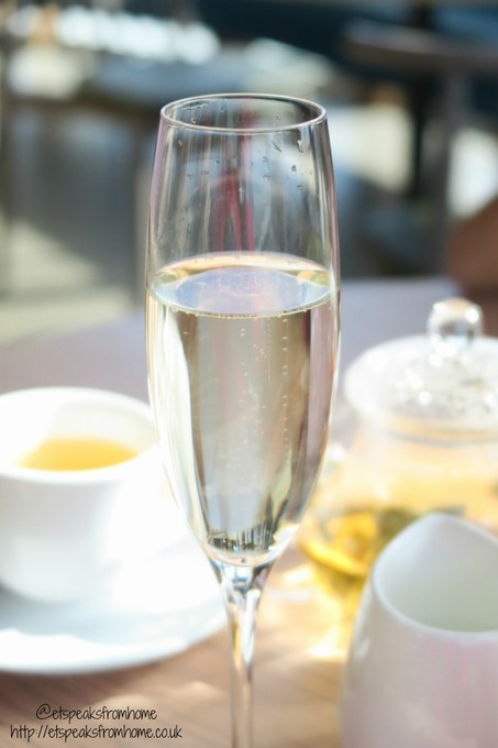 afternoon tea at chi kitchen prosecco