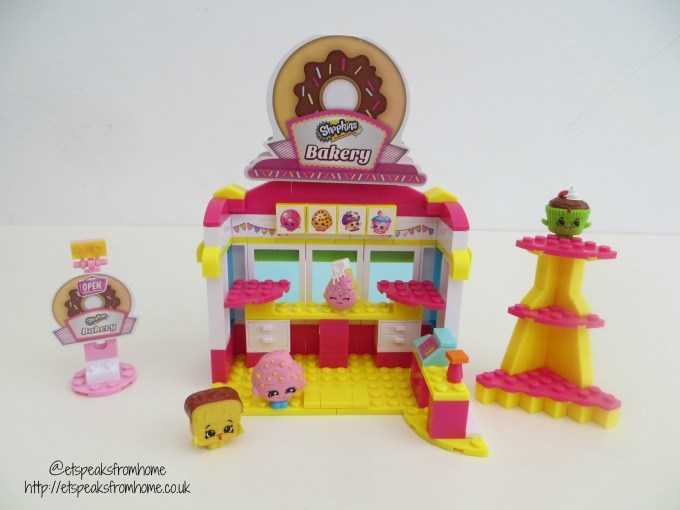 shopkins kinstructions bakery set review