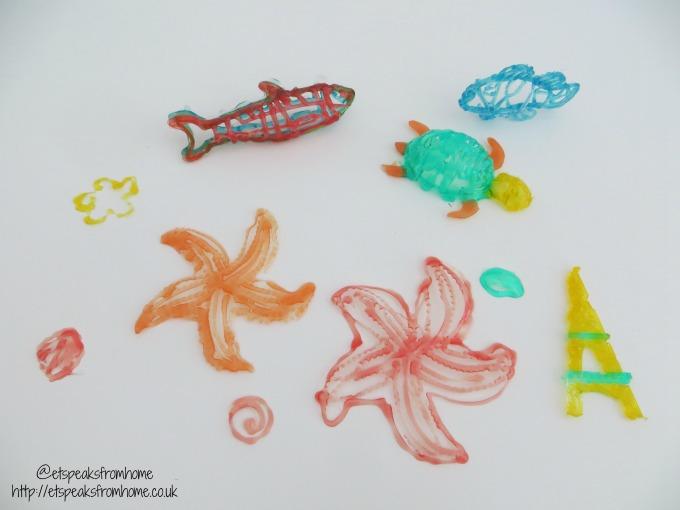 3d maker sea creatures
