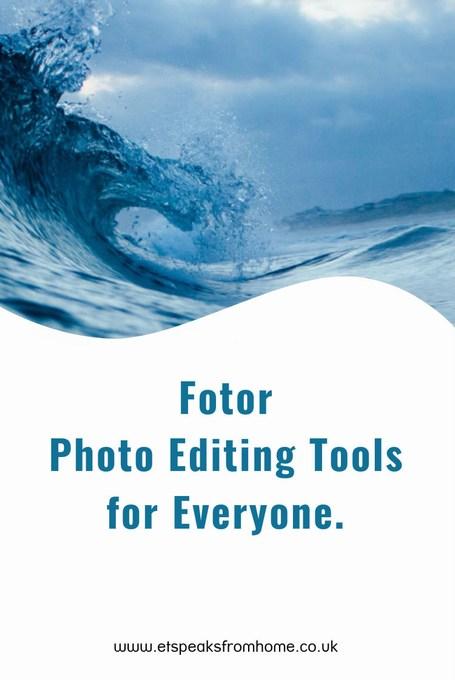 fotor photo editing tools for everyone