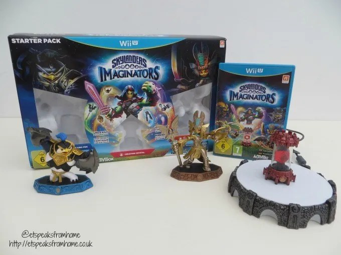 skylanders imaginators wii u review