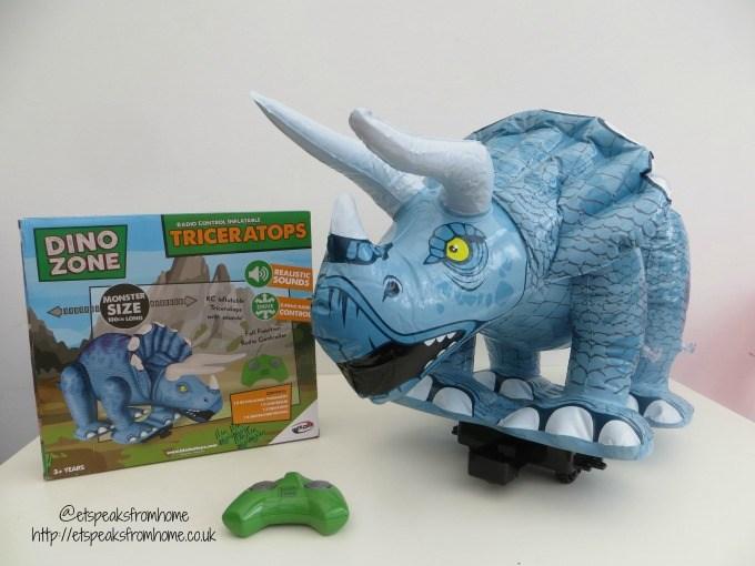 bladeztoyz triceratops radio control inflatables