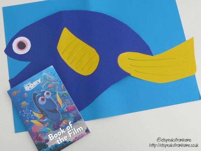 disney pixar finding dory paper craft