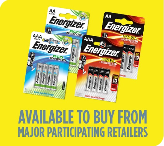 energizer max or eco advanced batteries pack