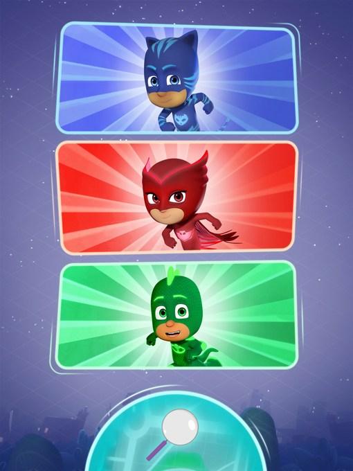 PJ masks super city run characters