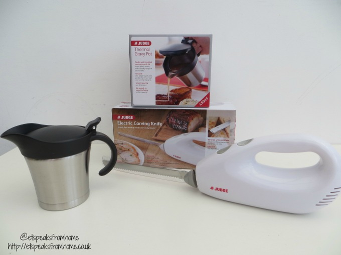 judge thermal gravy pot and Judge Electric Carving Knife