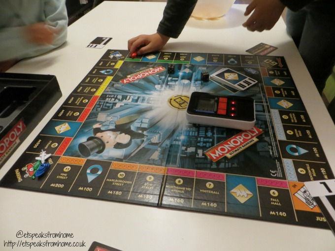 monopoly ultimate banking playing