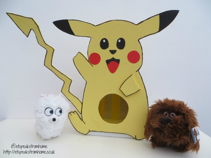 pikachu pet bed with gidget duke