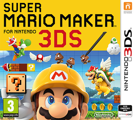 super mario maker for 3ds review