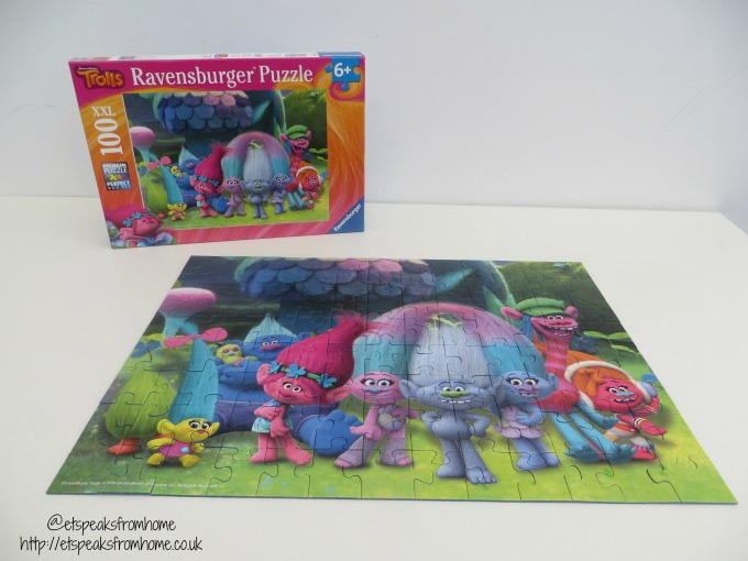 Trolls 100XXL Ravensburger Puzzle Review