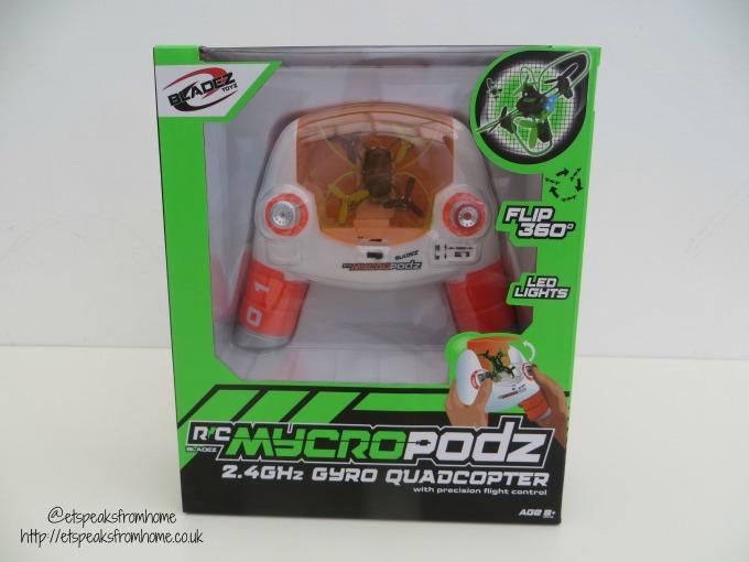 Bladez Mycropodz Quadcopter