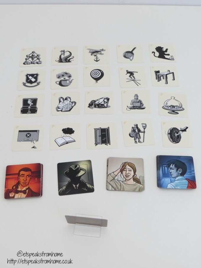 codenames pictures set up