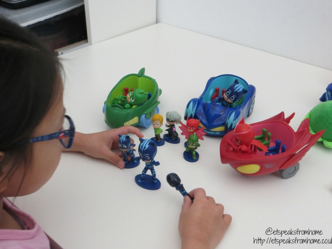 pj masks twitter party vehicle