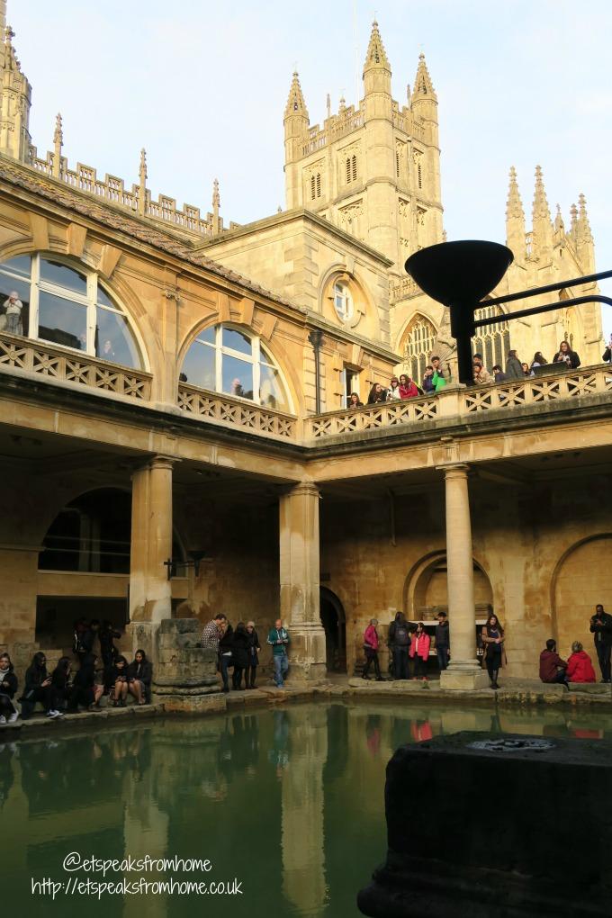roman baths king spa abbey