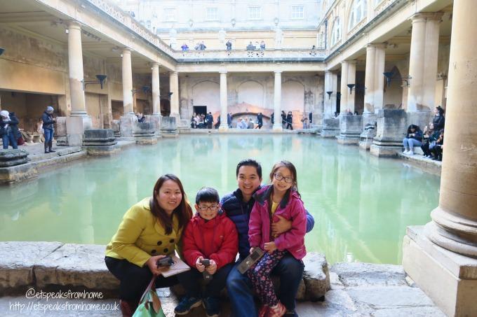 roman baths review king spa family photo