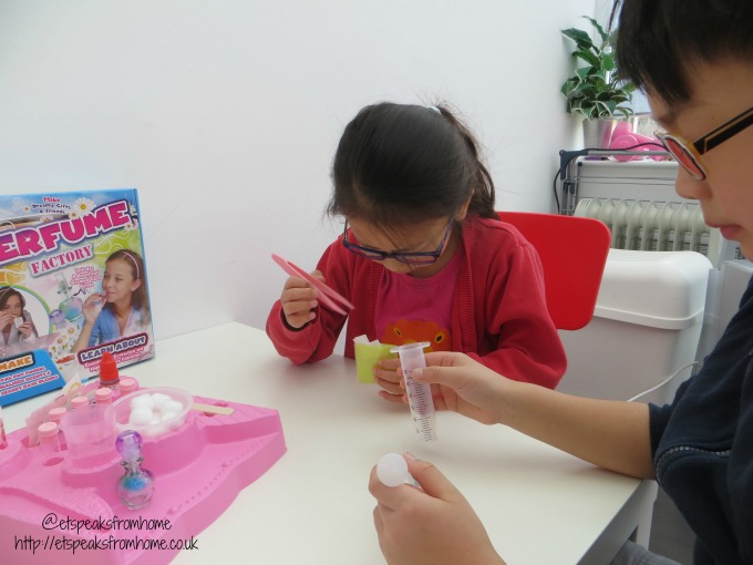 wild science perfume factory making