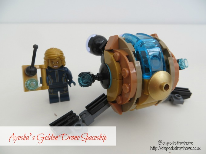 LEGO MARVEL Super Heroes Guardians of the Galaxy Ayesha's Golden Drone spaceshipq