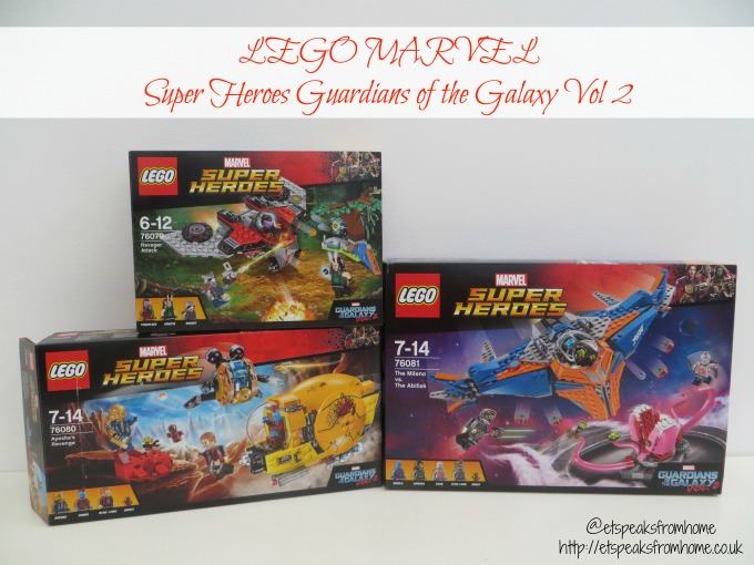LEGO MARVEL Super Heroes Guardians of the Galaxy Vol 2