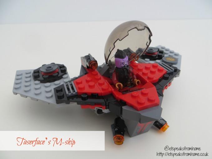 LEGO MARVEL Super Heroes Ravager Attack Taserface m ship