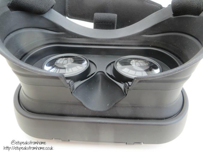 VR Insane POP360 VR Headset silicon