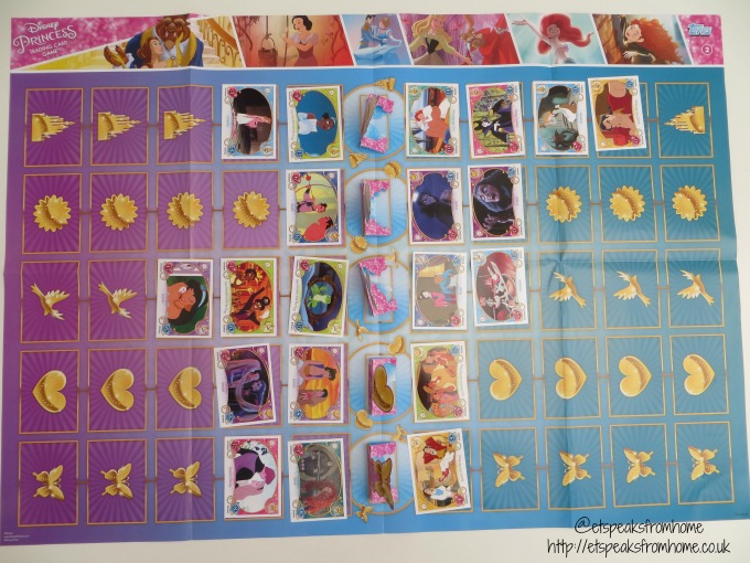 disney princess trading card game mat playing