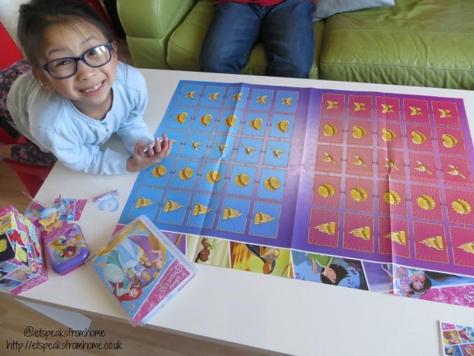 disney princess trading card game mat