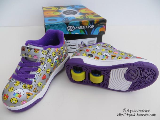 heelys emoji shoes 2 wheels review