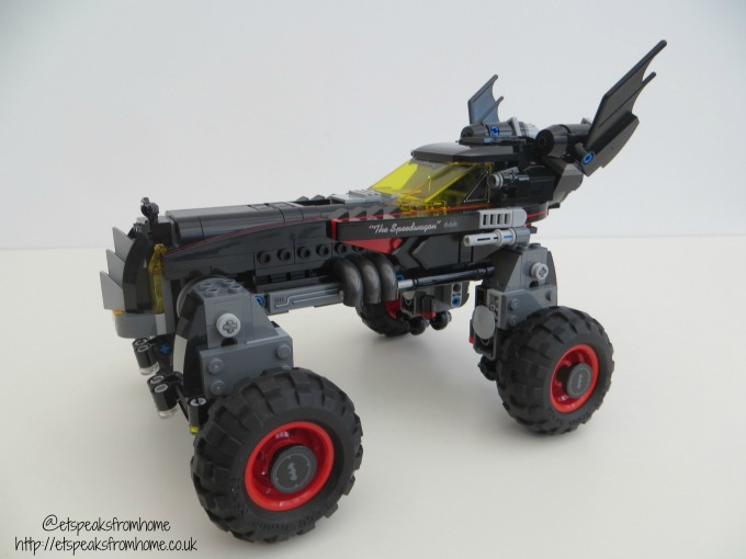 lego the batmobile truck