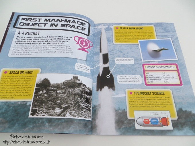 record breakers space book