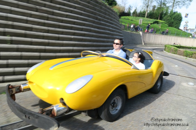 A Weekend at Disneyland Paris autopia
