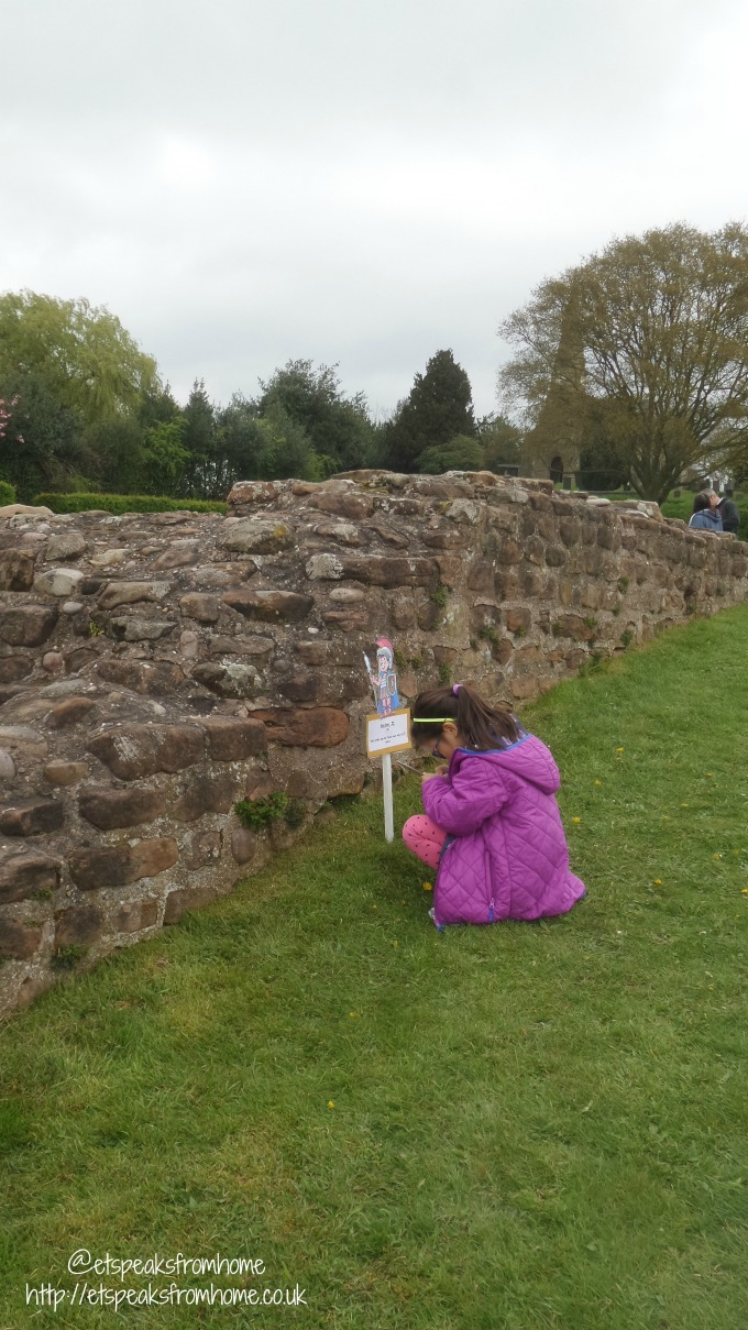 Easter Eggs Hunt at Wall Roman Site