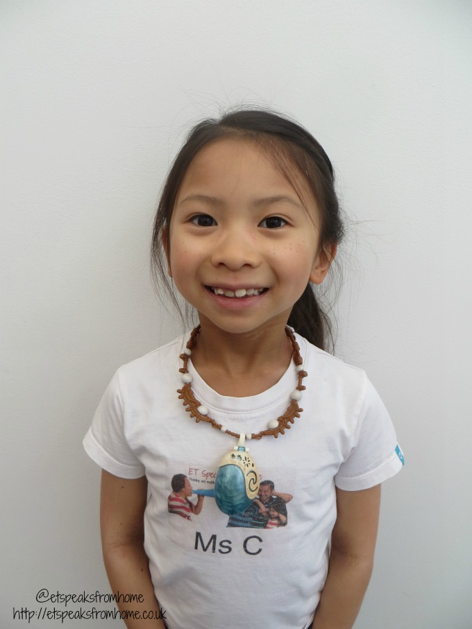 Jakks Pacific Moana magical necklace