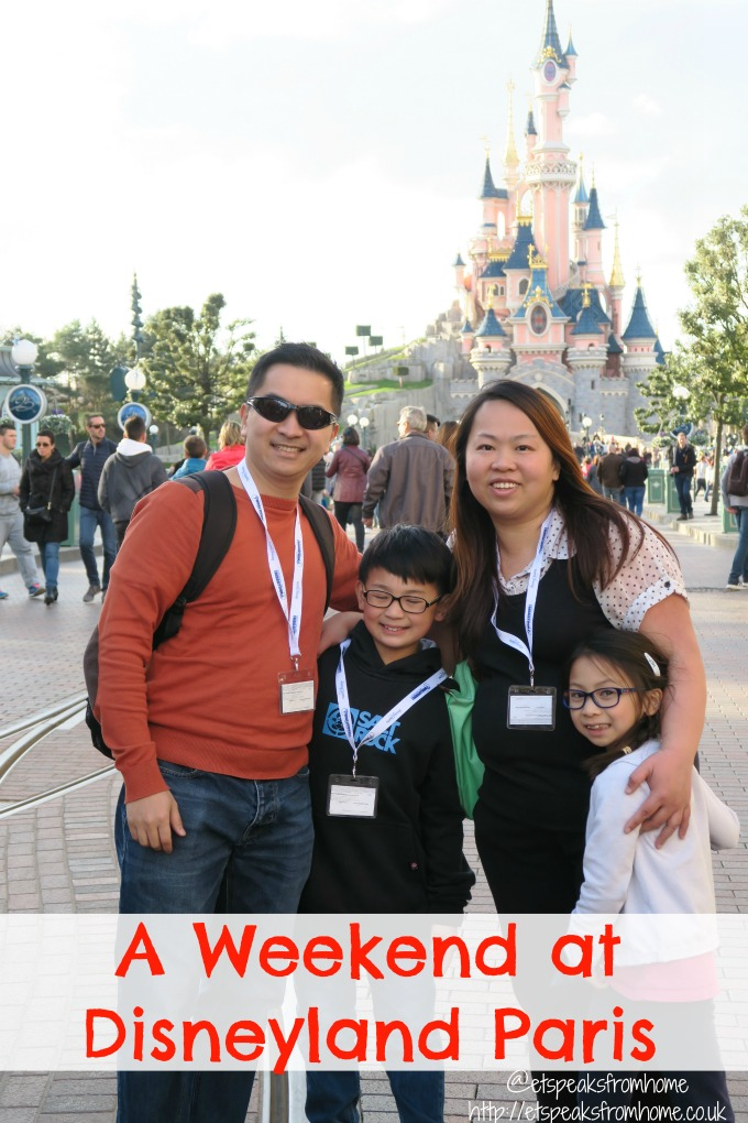 a weekend at disneyland paris
