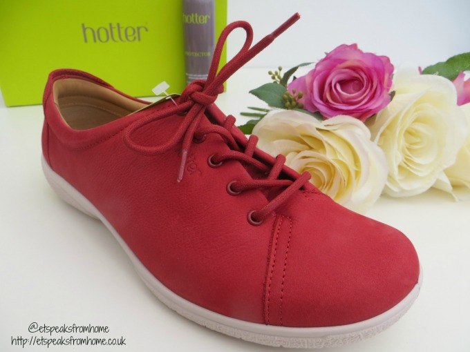 hotter shoes dew front