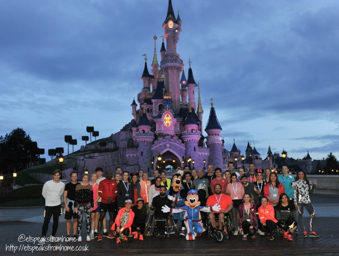 runDisney Paris 2017 run
