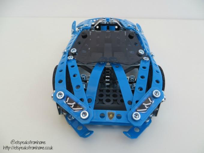 Meccano Lamborghini Huracan Spyder front
