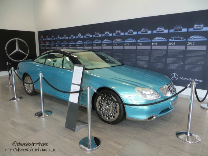 Mercedes-Benz World legend car