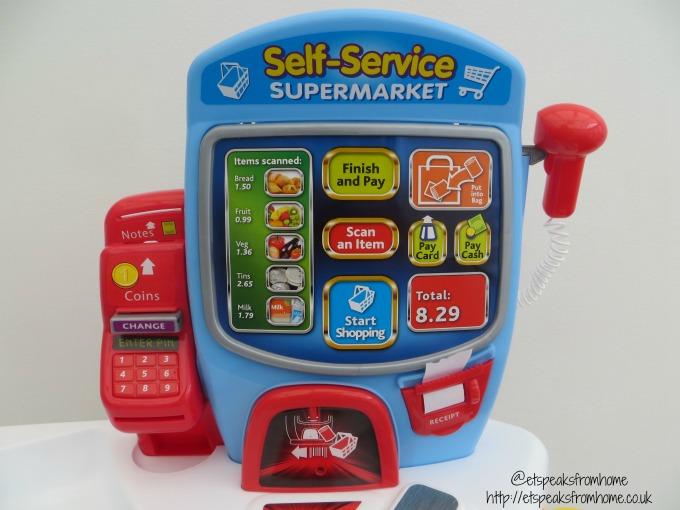 Casdon Self-Service Supermarket screen