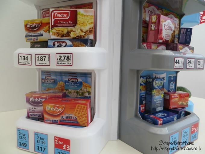 Casdon Self-Service Supermarket shelves