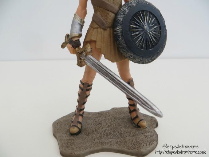 Schleich Wonder Woman Figurine base